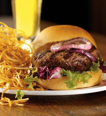 USDA Prime & Choice Steak Burgers - Stock Yards®