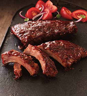 BBQ Pork Ribs - Heat & Serve - Stock Yards