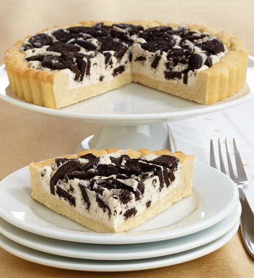 Irresistible OREO® Black & White Cookie Pie