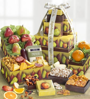 With Love  Support Sympathy Fresh Fruit Tower