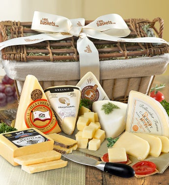 Premium Handcrafted Cheese Hamper - gluten free