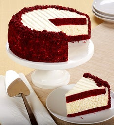 Junior's® Red Velvet Cheesecake