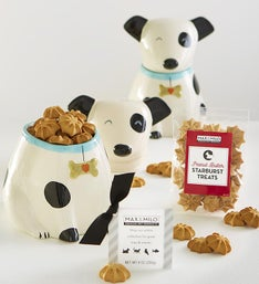 Max & Milo™ Pooch's Treat Time Jar & Treats Gift