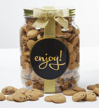 Enjoy Chocolate Chip Cookie Jar