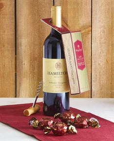 Harry & David Chocolates & Wine Pairing