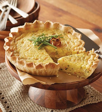 Harry  David Triple Cheese and Onion Quiche
