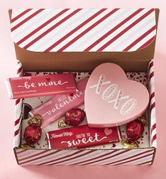 Hello Valentine Chocolate Sweets Box