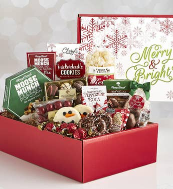Merry  Bright Holiday Sweets Market Box