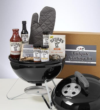 Tailgate Grilling Gift with Weber Smoky Joe Grill