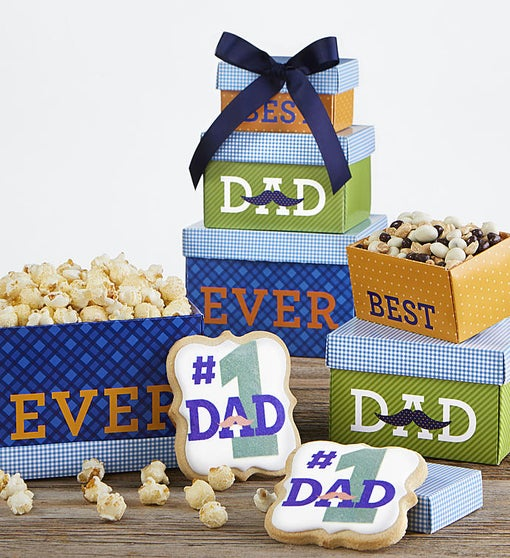 Best Dad Ever Sweets & Treats Tower