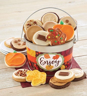 Cheryls Fall Enjoy Buttercream Bucket