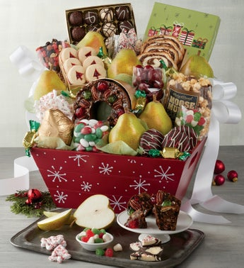 Harry  David Christmas Gift Basket
