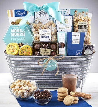 Happy Birthday Gift Basket
