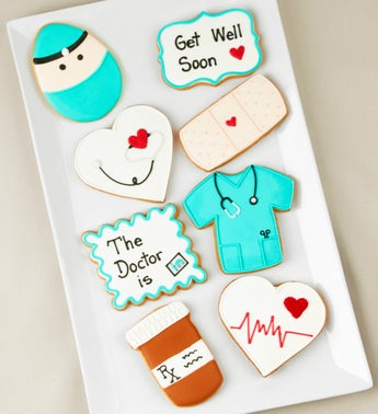 Feel Better Soon Artisan Iced Cookies