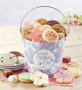 Cheryls Happy Mothers Day Treats Gift Pail