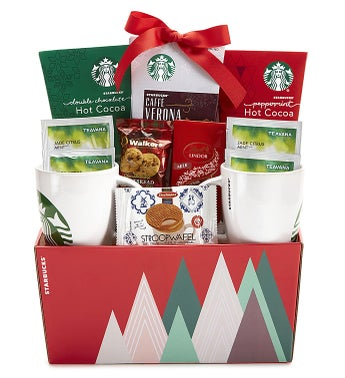 Starbucks Mugs Gift Basket