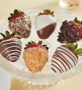Decadent Deluxe Dipped Strawberries
