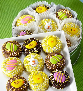 Happy Easter Belgian Chocolate Covered Oreo Tin
