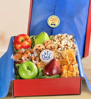 1 Dad Fresh Fruit  Exceptional Sweets Box