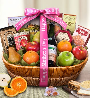 Mothers Day Farmstand Finest Fruit Gift Basket