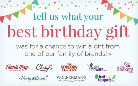 Tell us about your best birthday gift!