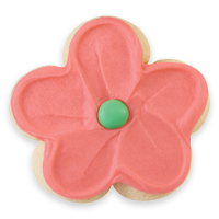 Buttercream Frosted Flower Cut-out