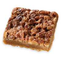 Pecan Pie Brownie Bar