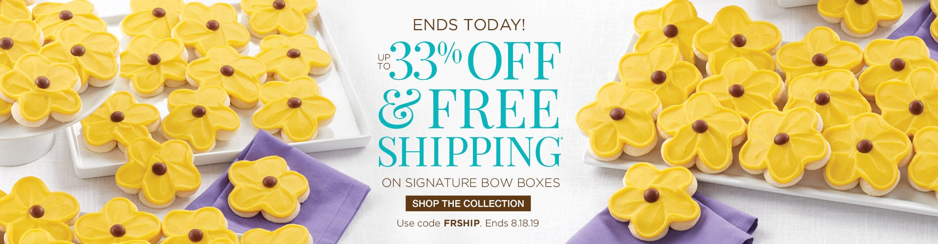 33% off Bow Boxes and free shipping