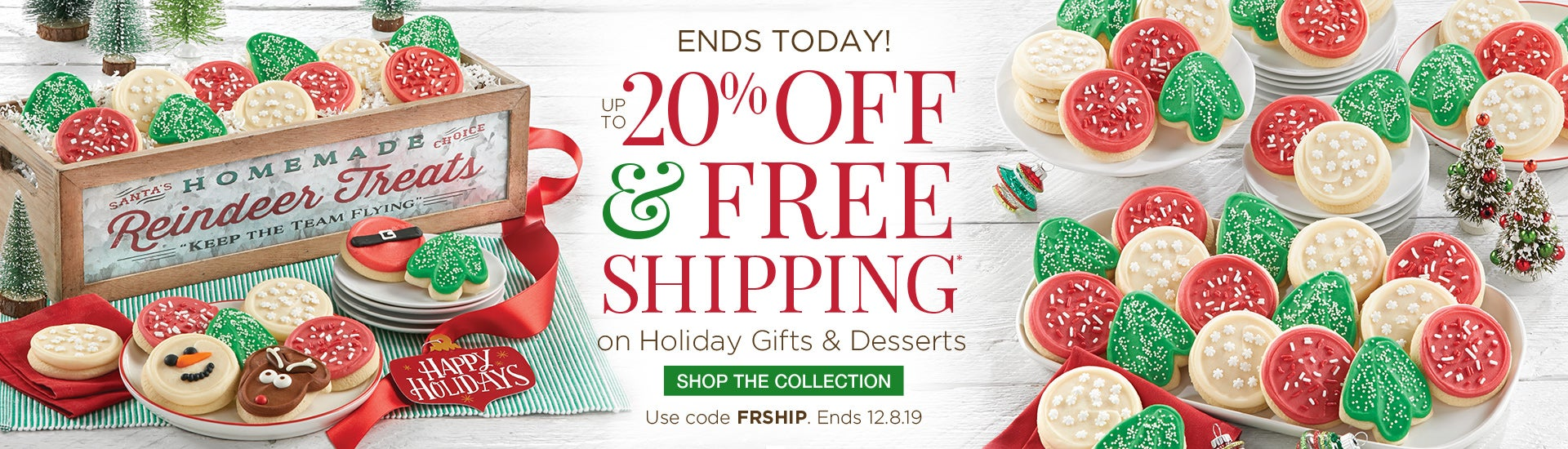 Up to 20% off and Free Shipping