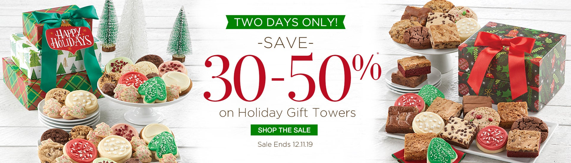 Save 30-50% on Holiday Towers