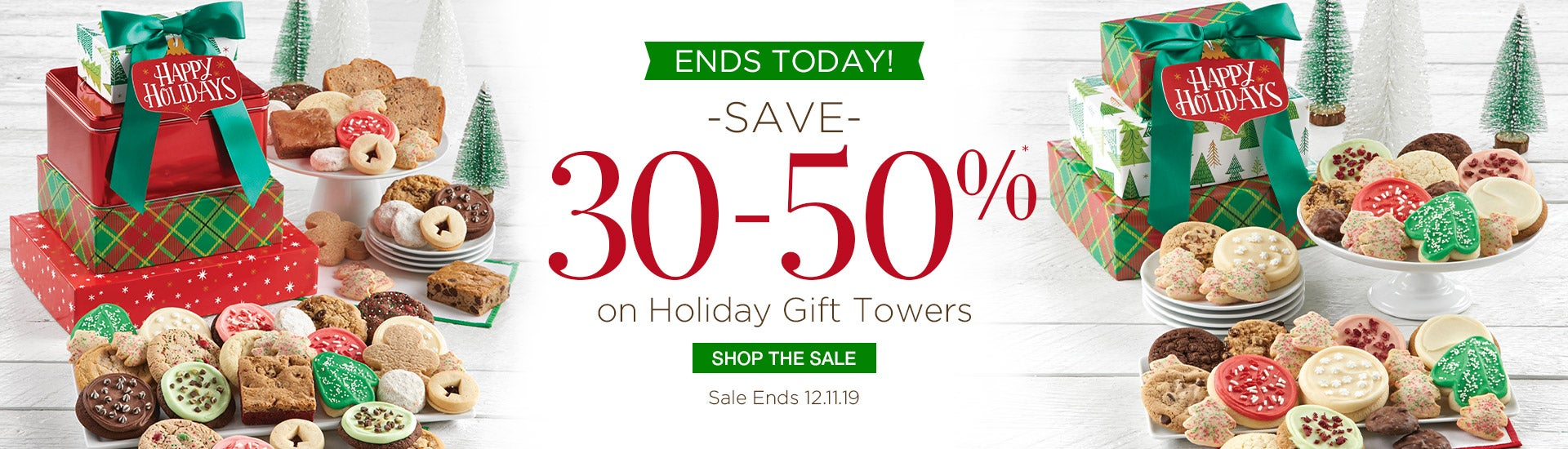 Save 30-50% off Holiday Towers
