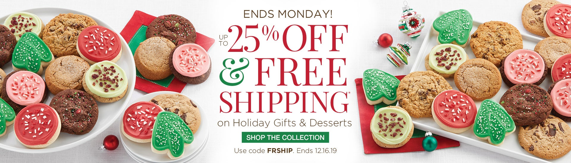 Save up to 25% + Free Shipping