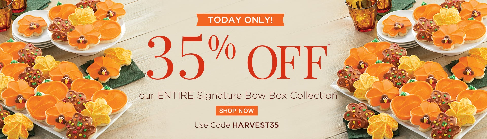 35% off our Signature Bow Boxes