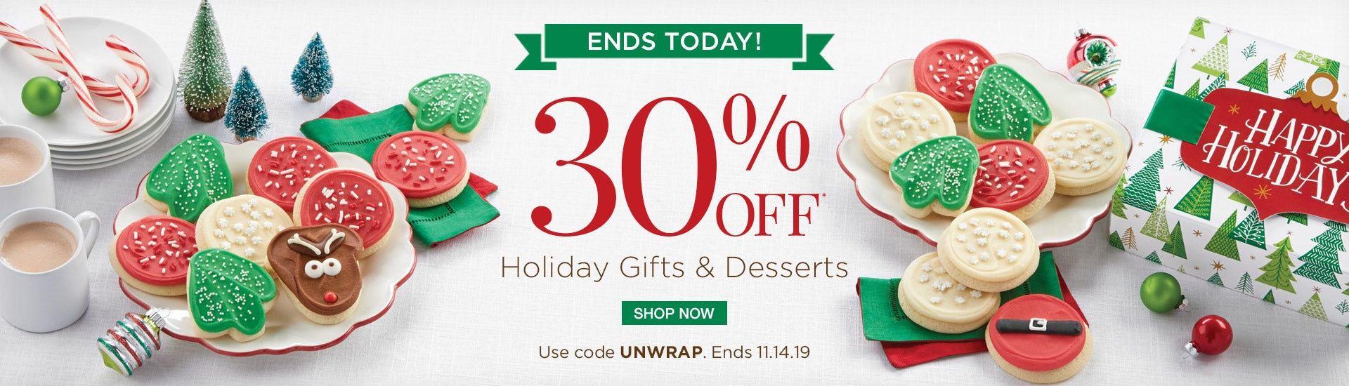 30% off Holiday Gifts