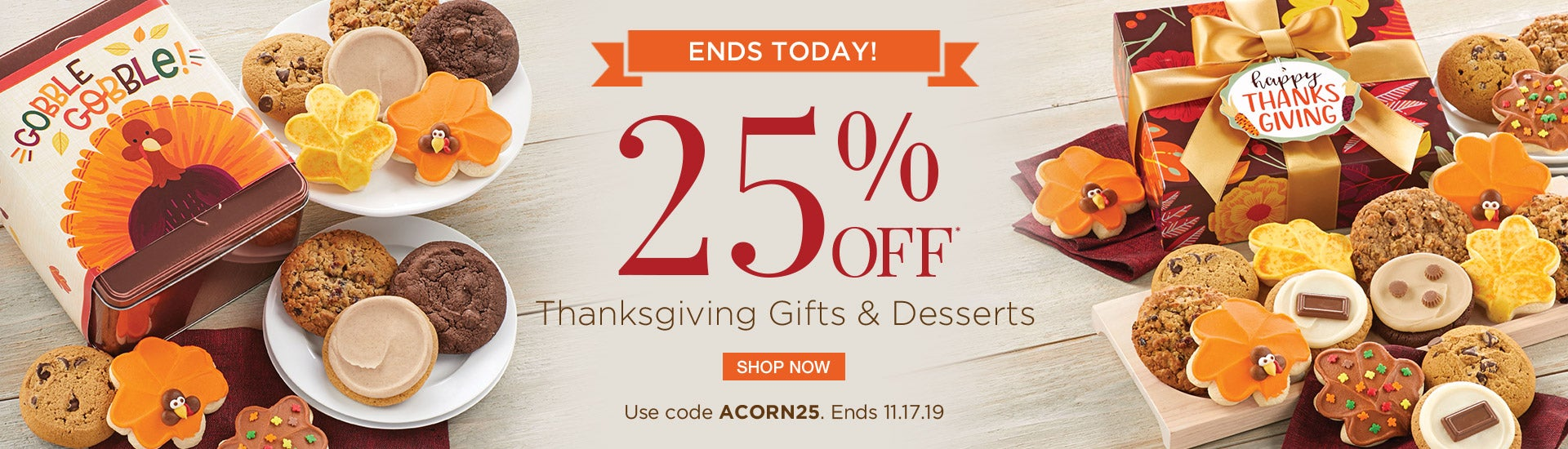 25% off Thanksgiving Gifts