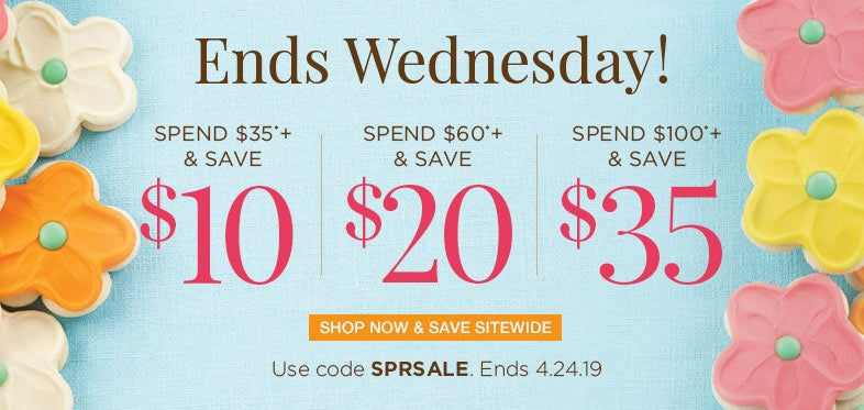 Save up to $35 on all occasion gifts