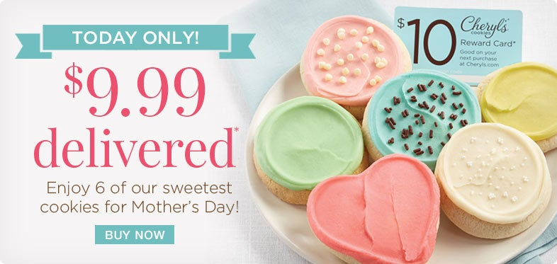 Mother's Day Cookie Sampler