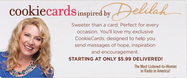 Cookie Cards - inspired by Delilah