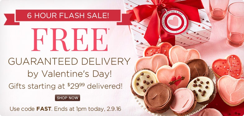 Free Guaranteed Delivery