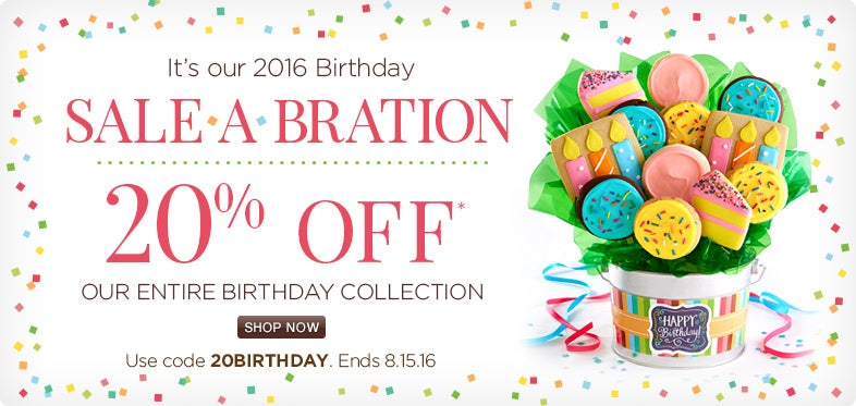 Birthday Sale-A-Bration