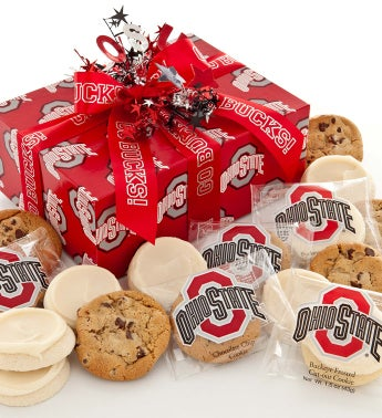Ohio State Buckeye Cookie Gift