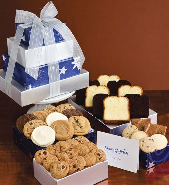 Make-A-Wish Bakery Gift Tower
