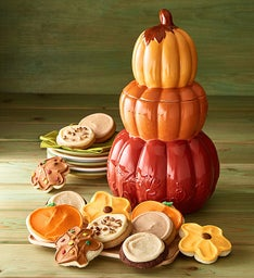 Collector's Edition Stacked Pumpkin Jar