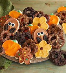 Fall Cookie & Pretzel Gift