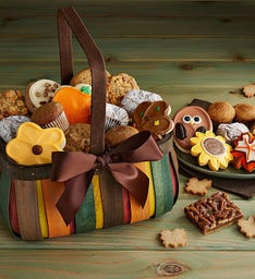 Fall Flavors Gift Basket