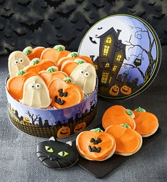 Haunted House Gift - Tin Cut-out Cookies