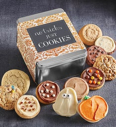 No Tricks, Just Cookies Gift Tin - Create Your Own