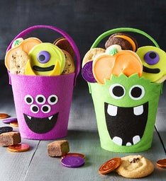 Mini Halloween Monster Totes