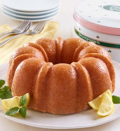 Miss Grace Lemon Cake with Gift Tin