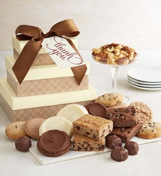 Sugar free cookies and brownies sugar free treats cheryls cheryls message sugar free gift tower negle Choice Image